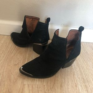 Jeffrey Campbell Cromwell Cut-out Western Bootie